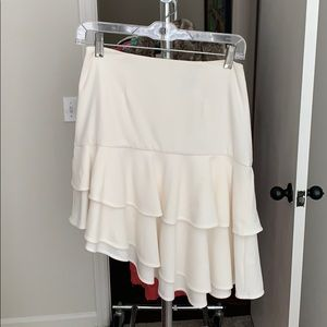Finders Keepers Asymmetrical Ruffle Skirt